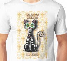 Dia de los Muertos - El Gato Unisex T-Shirt