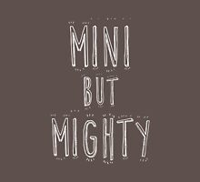 mini but mighty Womens Fitted T-Shirt