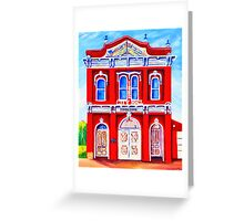 Tombstone City Hall Arizona Greeting Card