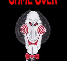 Horror Movie Game Over Caricature by MMPhotographyUK