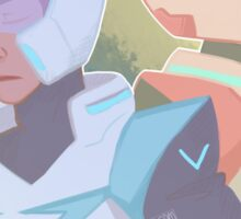 The Red & Blue Paladin Sticker