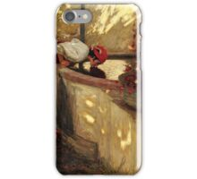 Henry Herbert La Thangue, R.A.  LIGURIAN ROSES iPhone Case/Skin