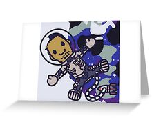 Kid Cudi BAPE Cartoon Greeting Card