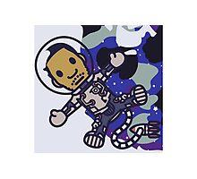 Kid Cudi BAPE Cartoon Photographic Print
