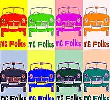 MG Folks Mosiac by Sharon Poulton