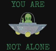 Aliens You are not Alone Kids Tee