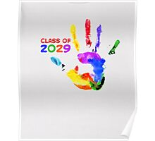 CLASS OF 2029 - Back To School T-Shirt Poster