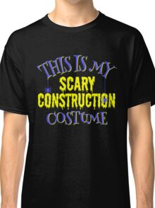 Scary Construction Costume Classic T-Shirt