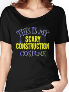 Scary Construction Costume Women's Relaxed Fit T-Shirt