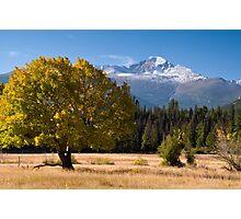 Longs Peak Photographic Print