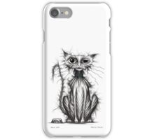 Ugly cat iPhone Case/Skin