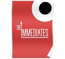 The Immediates Logo Poster