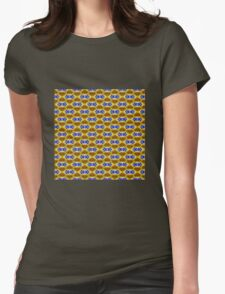 Hibiscus Yellow (VN.261) Womens Fitted T-Shirt