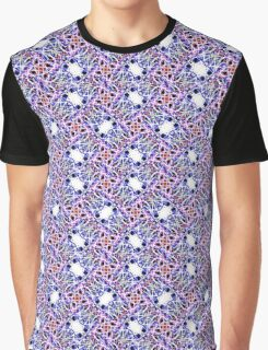 Psychedelic embroidery Graphic T-Shirt