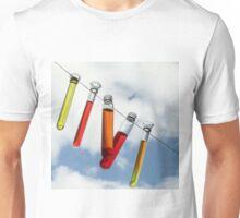 farbige Reagenzgläser Unisex T-Shirt