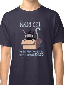 Ninja cat Classic T-Shirt
