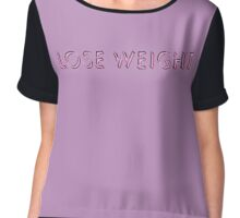 Lose Weight Chiffon Top