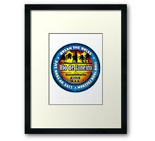 Get Wet and Fun In RJ Framed Print