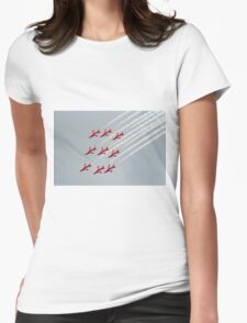 Red Arrows inverted Womens Fitted T-Shirt