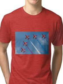 Red Arrows five ship Tri-blend T-Shirt