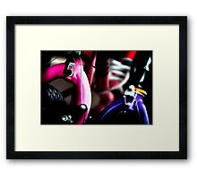 Abstract Cycle 4 Framed Print