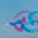 Red Arrows gypo rolls by Gary Eason