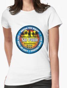 Sao Paulo Brazil Womens Fitted T-Shirt