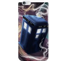 TARDIS In The Time Vortex iPhone Case/Skin