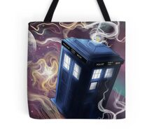 TARDIS In The Time Vortex Tote Bag
