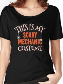 Scary Mechanic Costume Women's Relaxed Fit T-Shirt