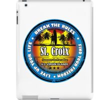 St. Croix Party In Paradise iPad Case/Skin