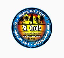 St. Croix Party In Paradise Unisex T-Shirt