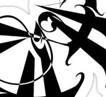 Death by black hole Sticker