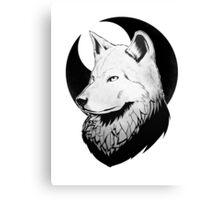 Inkpen Wolf Canvas Print