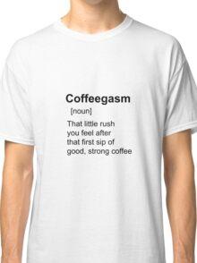 Coffee shirt Classic T-Shirt