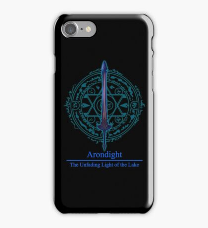 Arondight The Unfading Light of the Lake iPhone Case/Skin