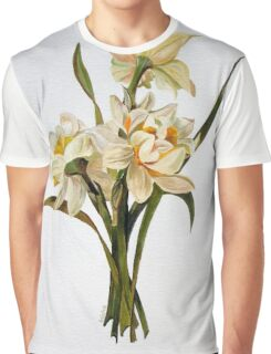 Double Narcissi In A Bouquet Graphic T-Shirt