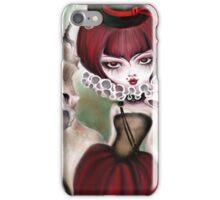 Dragon Lady - Graveyard Grenda & Dragon iPhone Case/Skin