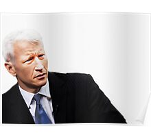 """These Eyes are A National Treasure"" [ Anderson Cooper ] Poster"