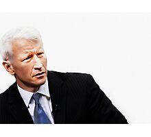 """These Eyes are A National Treasure"" [ Anderson Cooper ] Photographic Print"