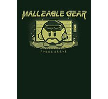 Malleable Gear Photographic Print