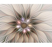 Joyful Flower Abstract Floral Fractal Art Photographic Print
