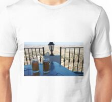BREW WITH A VIEW.. Unisex T-Shirt