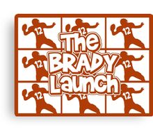 The Brady Launch Canvas Print