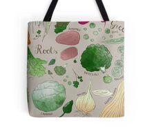 Winter Vegetables Tote Bag