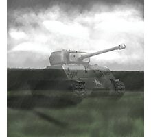 M4 Sherman  Photographic Print