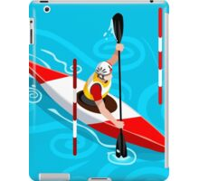 Kayak Slalom iPad Case/Skin