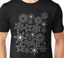 Invert Snowflakes Unisex T-Shirt