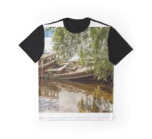 Boat Wreck Loch Ness Graphic T-Shirt