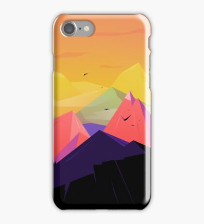 Oh the mountains iPhone Case/Skin